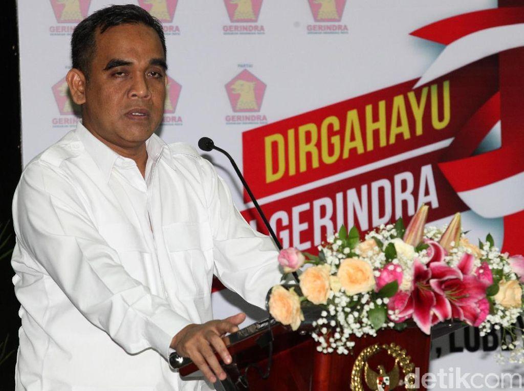 Gerindra: Koalisi Pengusung Prabowo Belum Terbentuk