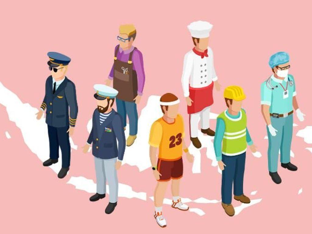 Daftar Baru Pekerjaan dan Jabatan yang Boleh Diisi Tenaga Kerja Asing