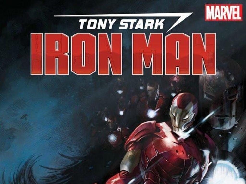 Armor Iron Man Makin Beragam di Komik Terbaru Tony Stark