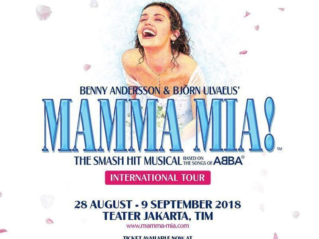 Tim MAMMA MIA! Nilai Teater Jakarta Berkualitas Internasional