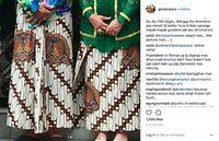 Putri Keraton Protes Film yang Tampilkan Sultan Agung Pakai Batik Parang Kecil