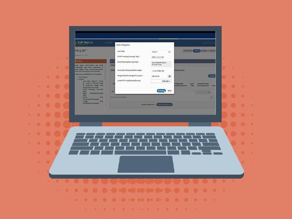 Mau Lapor SPT Online Tapi Lupa EFIN, Ini yang Harus Dilakukan