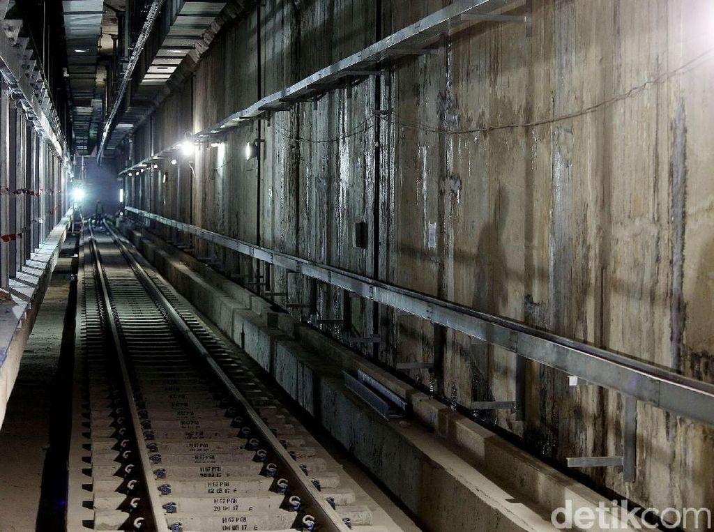 Penampakan MRT Jakarta yang Ditarget Operasi Maret 2019