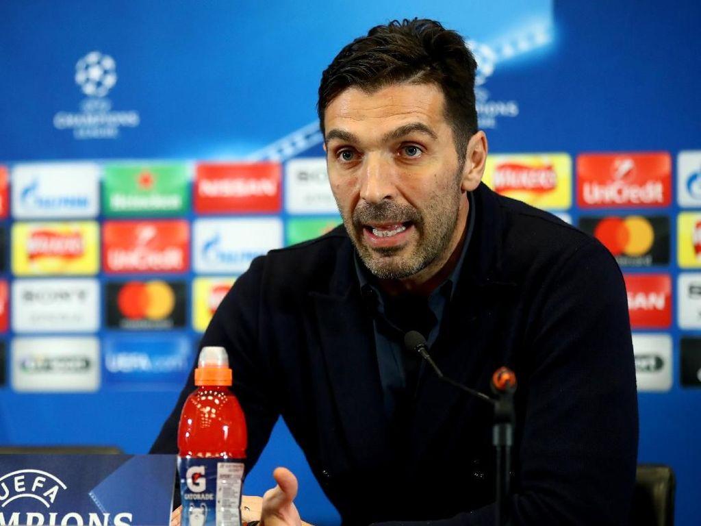 Buffon: Juve Hadapi Pertarungan Berat di Wembley