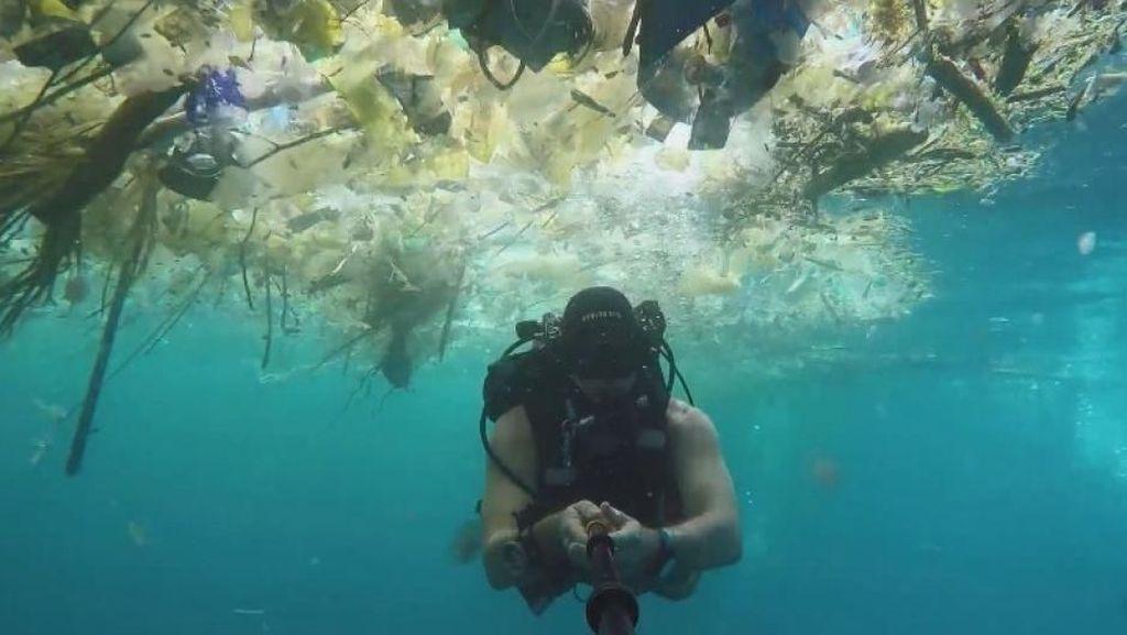 Dari Mana Sampah yang Mencemari Laut Bali?