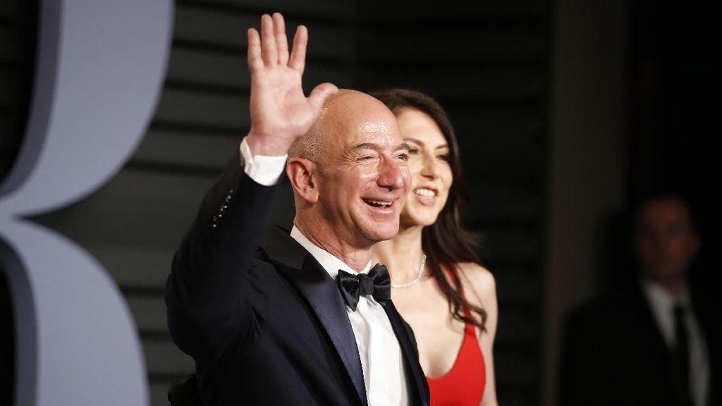 Dipimpin Jeff Bezos, Ini 10 Orang Paling Tajir di Dunia