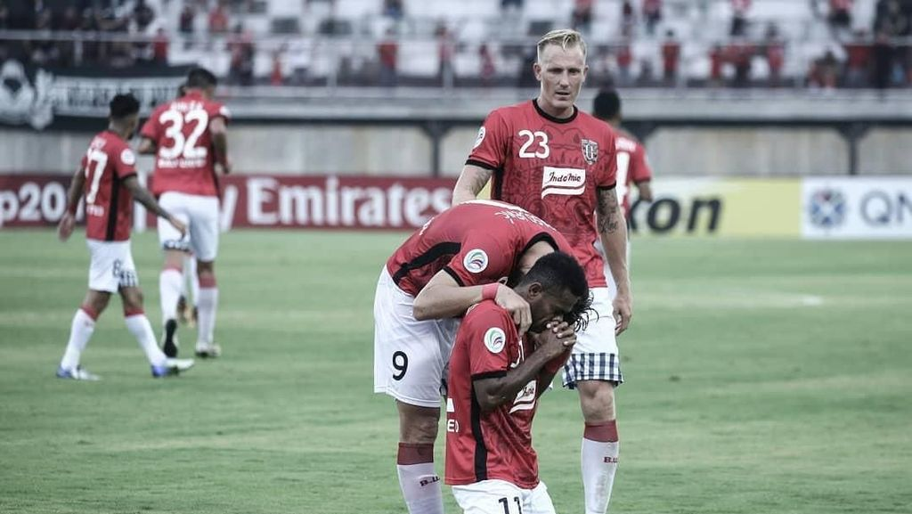 Akhirnya Bali United Menang!