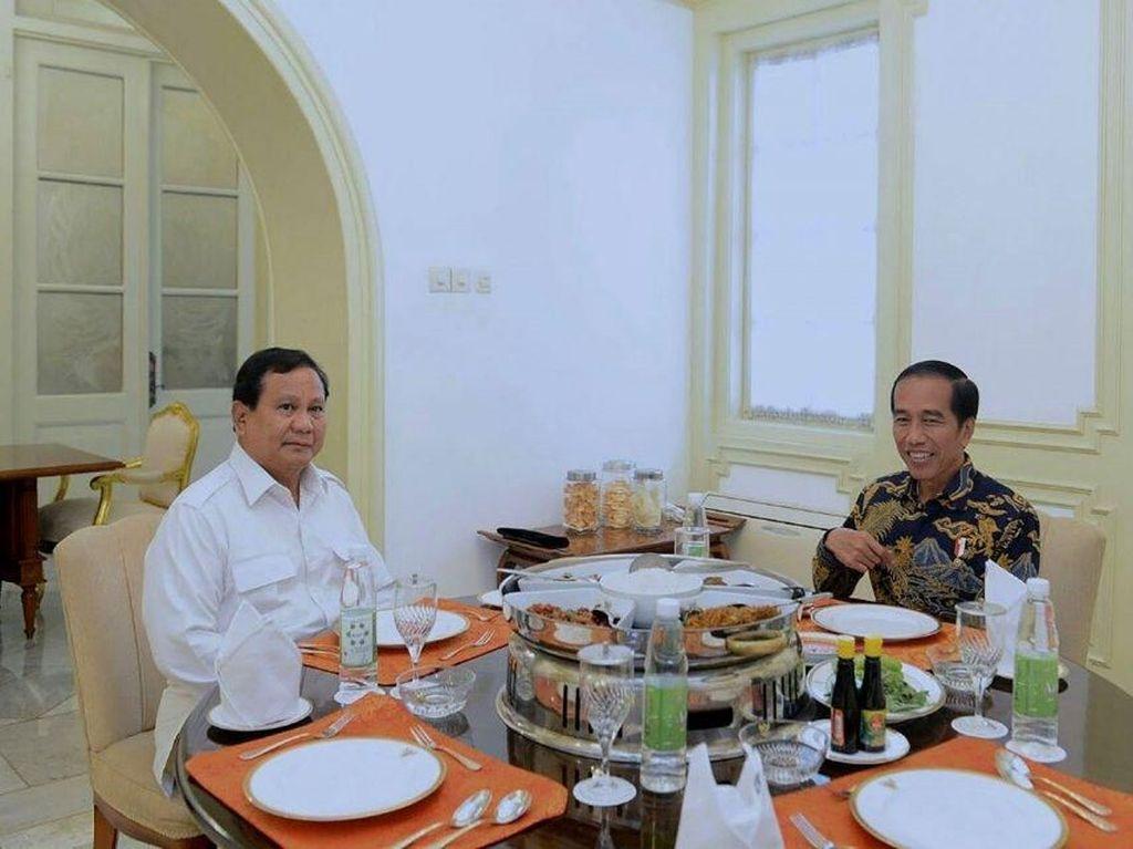 Capres Jokowi dan Prabowo Sama-Sama Doyan Masakan Rumahan