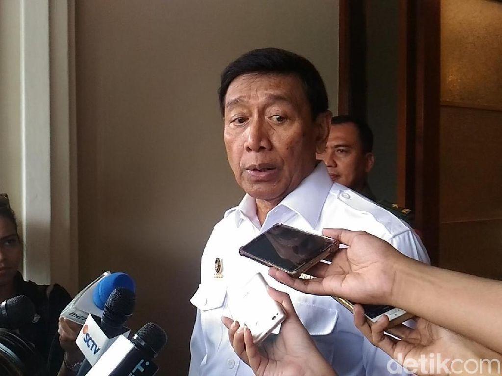 Wiranto: Tunda Kasus Calon Kepala Daerah Itu Imbauan