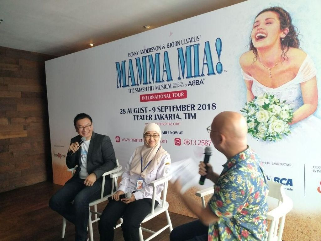 Dancing Queen hingga I Have a Dream akan Dibawakan di MAMMA MIA! Jakarta