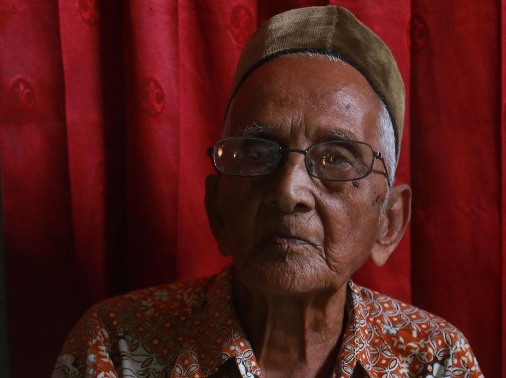 Nyak Sandang Bertemu Jokowi di Istana