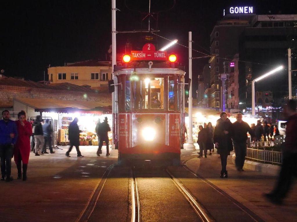 Tram Jadul di Istanbul, Salah Satu yang Tertua di Dunia
