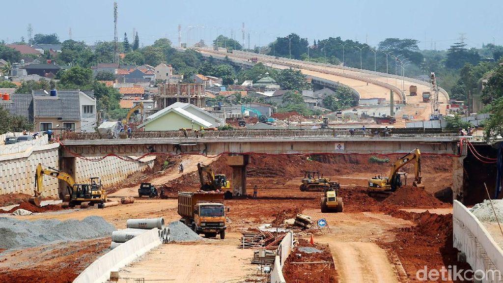 Foto: Melihat Perkembangan Proyek Tol Desari