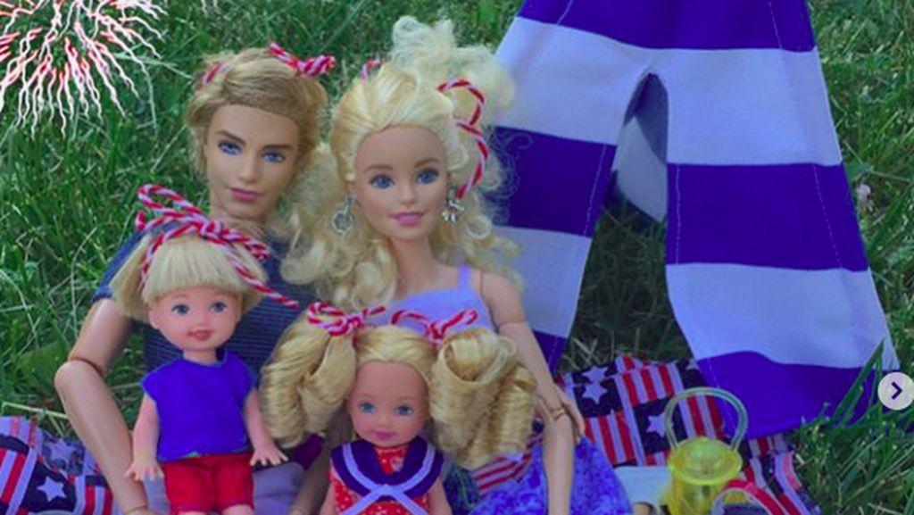 Beginilah Kalau Barbie Jadi Ibu-ibu Jaman Now