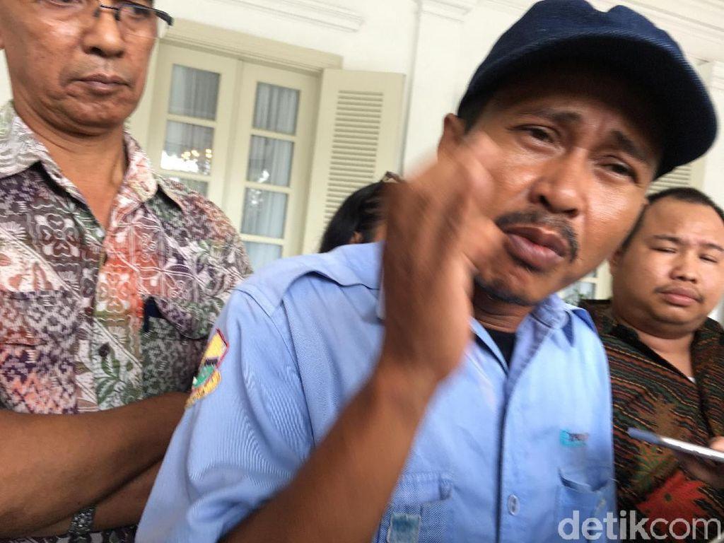 Sopir Angkot Tn Abang Somasi Anies Minta Jalan Jatibaru Dibuka
