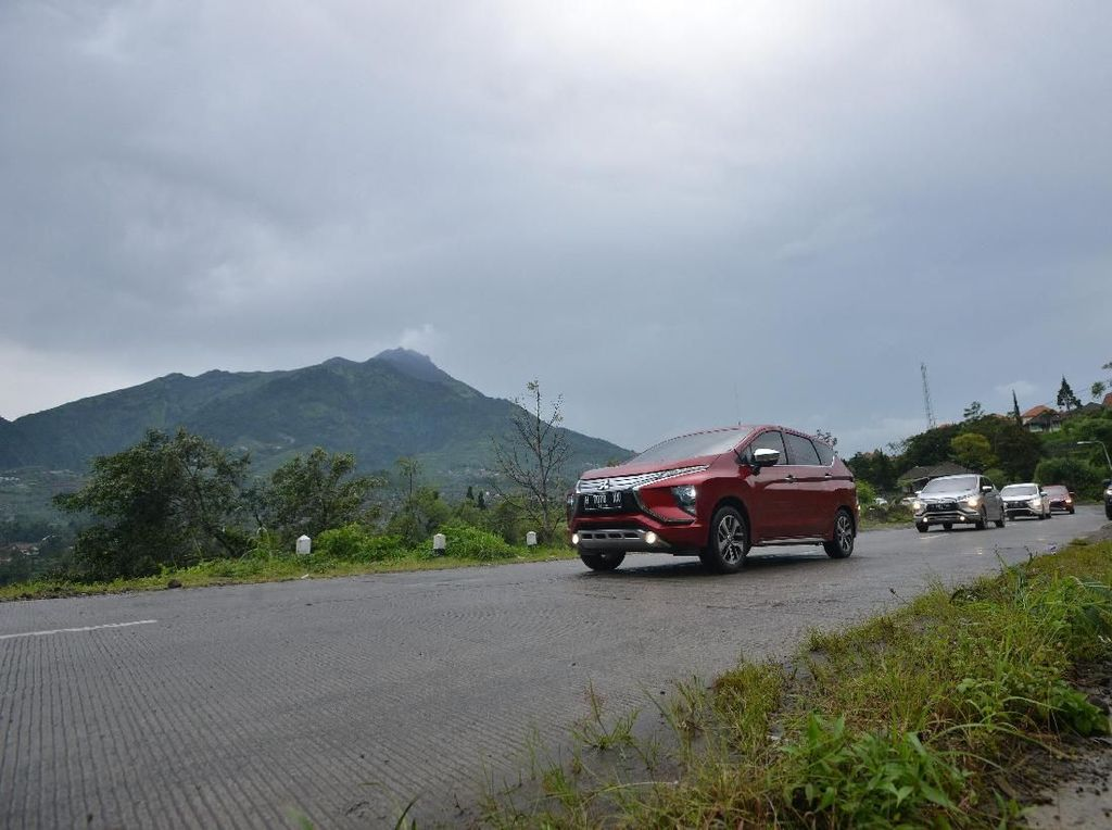 Menguji Performa Mitsubishi Xpander di Kaki Gunung Merbabu