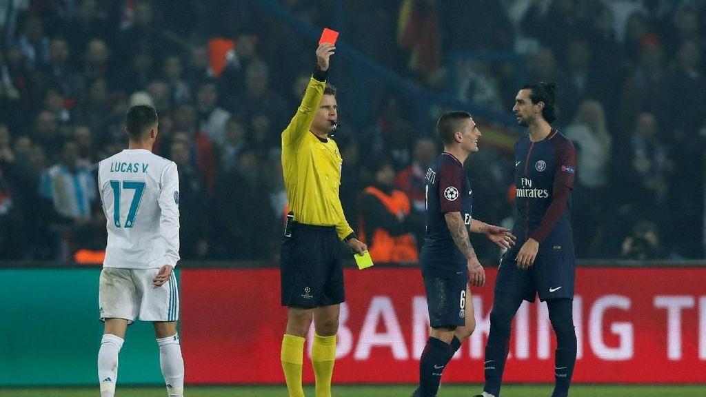 Masih Kesal Kartu Merah Lawan Madrid, Verratti Sebut-Sebut Messi