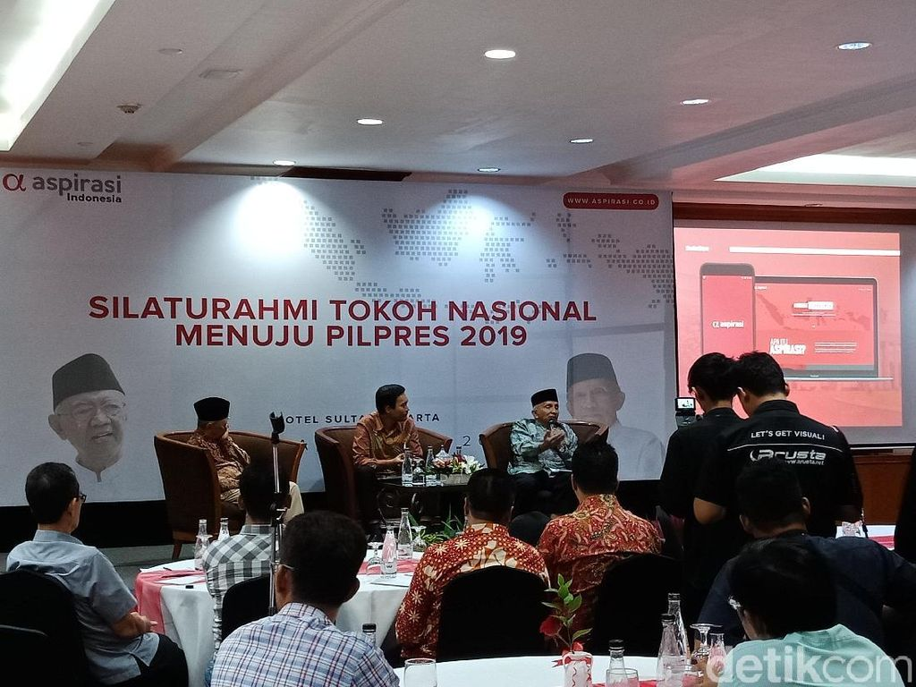 Amien Rais-Gus Sholah Hadiri Acara Silaturahmi Menuju Pilpres 2019