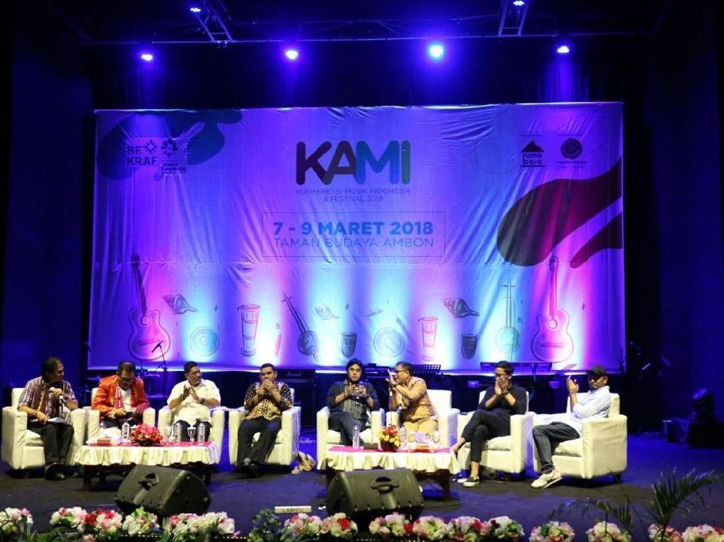 Konferensi Musik Indonesia 2018 Perdana Digelar di Ambon