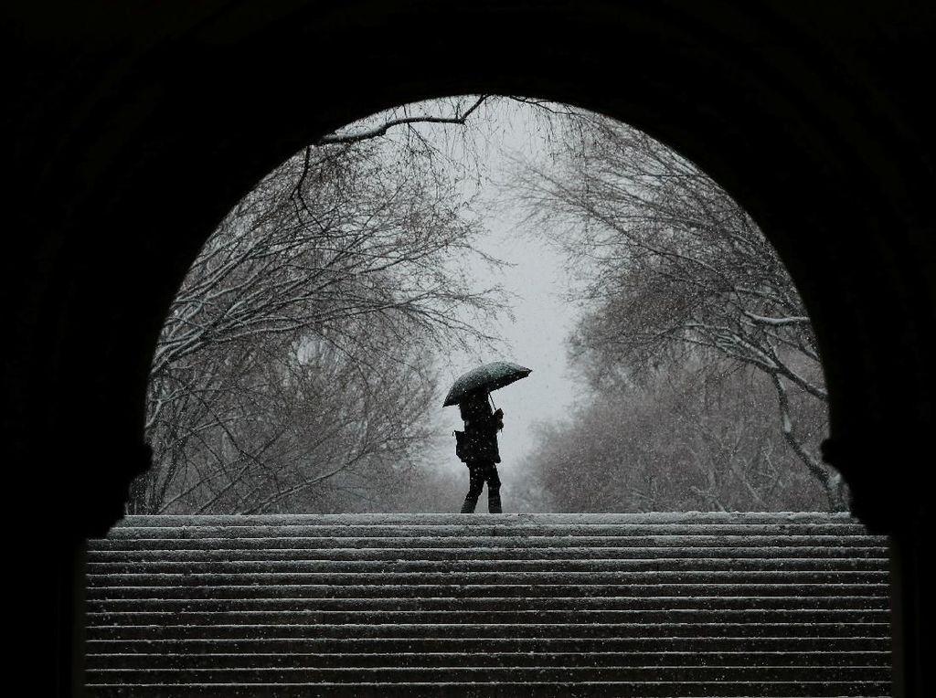 Gelombang Dingin Terjang Sejumlah Kota di China