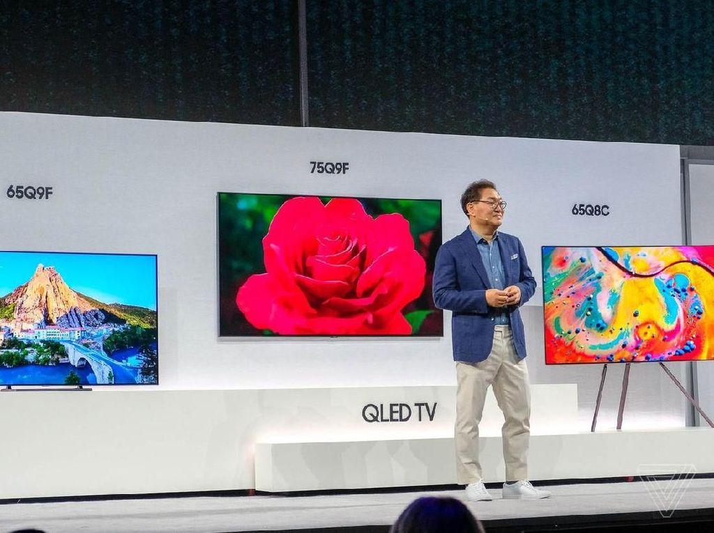 Wow, TV Anyar Samsung Bisa Jadi Bunglon