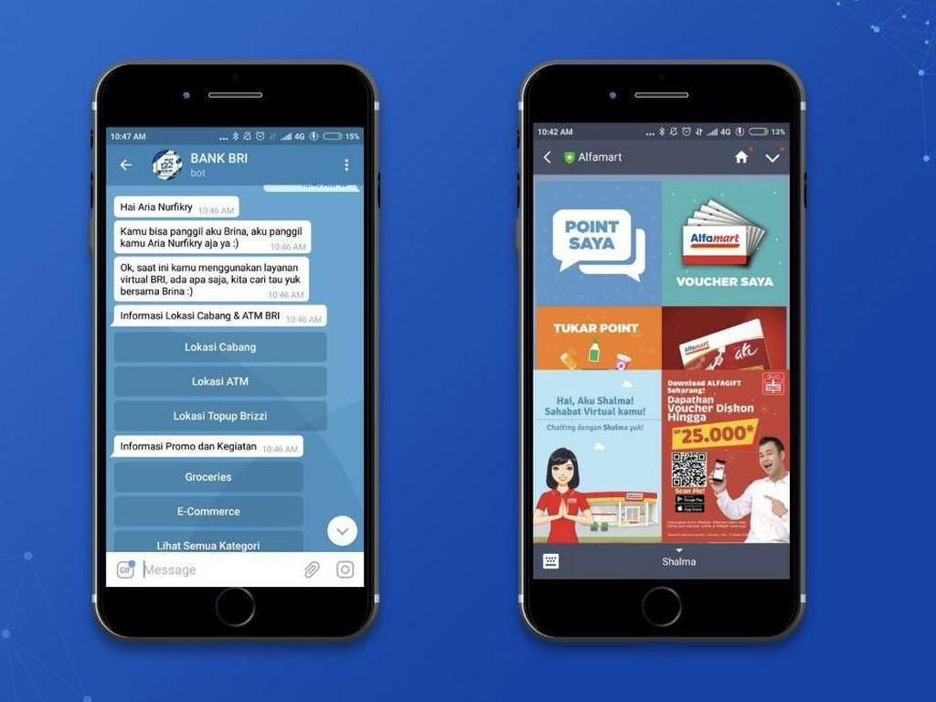 Penggunaan Chatbot Rambah Perbankan dan Ritel