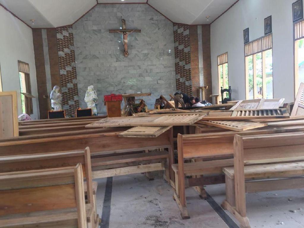 Soal Perusakan Gereja di Sumsel, Kapolda: Motifnya Pribadi