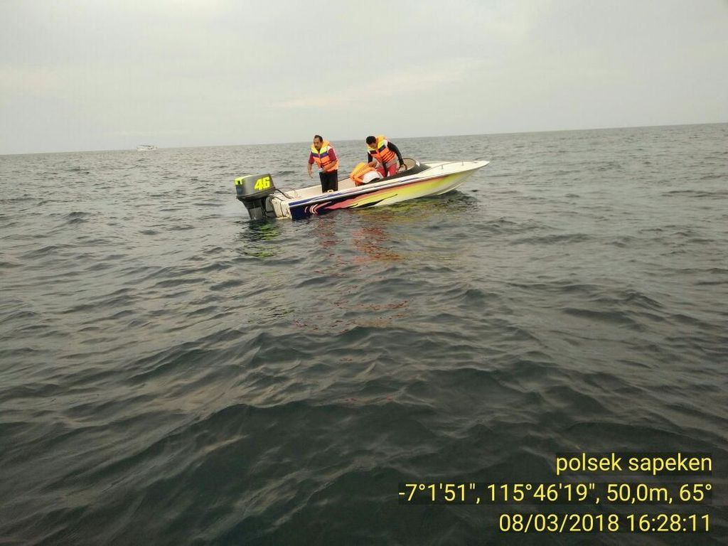 Perahu Terhantam Ombak di Sapeken, Berikut Kronologinya