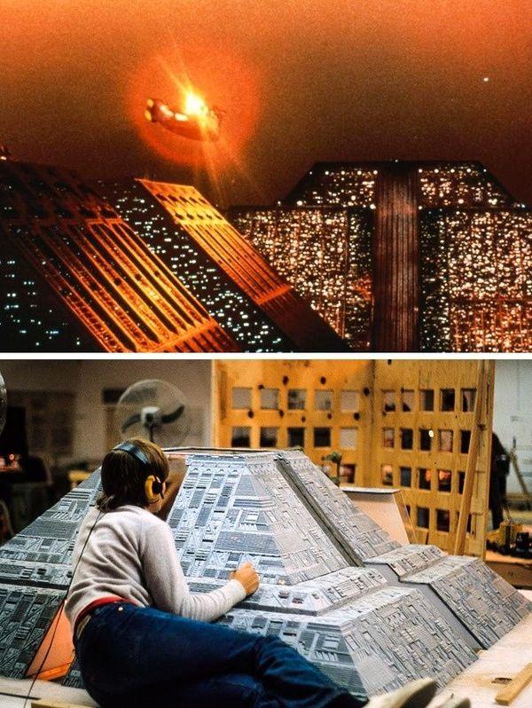 Ternyata di balik sebagian film hollywood, mulai dari lokasi hingga bangunan-bangunan bukanlah ukurannya sebenarnya bahkan bisa dikatakan sebagai sebuah miniatur. Seperti adegan film Blade Runner ini. Tentu dibutuhkan bantuan teknologi untuk membuatnya jadi tampak nyata di film.(Foto: Brightside)