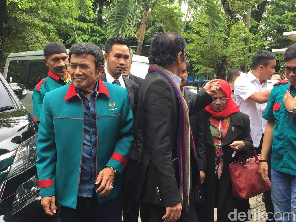 Resmi Daftar Banding, Rhoma Irama Optimistis Partai Idaman Ikut Pemilu