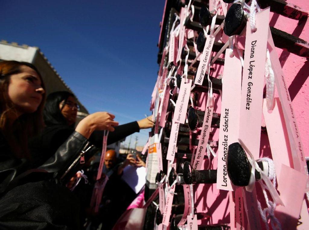 Foto: Begini Perayaan Hari Perempuan Internasional di Meksiko