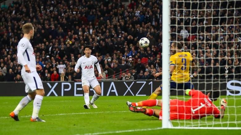 Son Bawa Spurs Ungguli Juventus 1-0