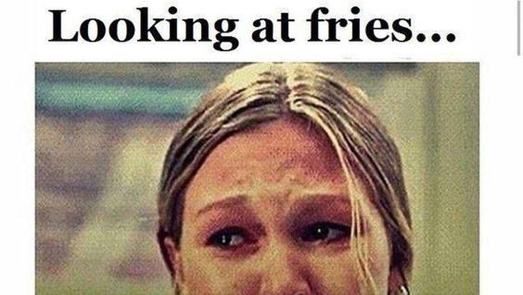 Sedang Diet Eating Clean? 10 Meme Kocak Ini Mungkin Mewakili Isi Hatimu