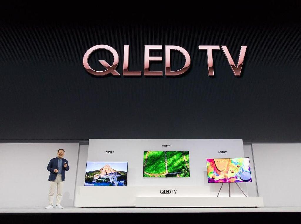 Detik-detik Lahirnya Televisi Bunglon Besutan Samsung
