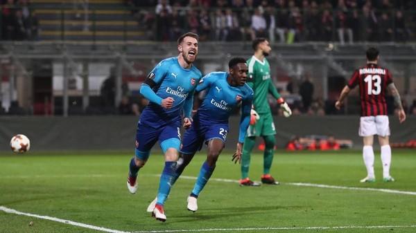 Unggul Agregat, The Gunners Tetap Serius Hadapi Milan