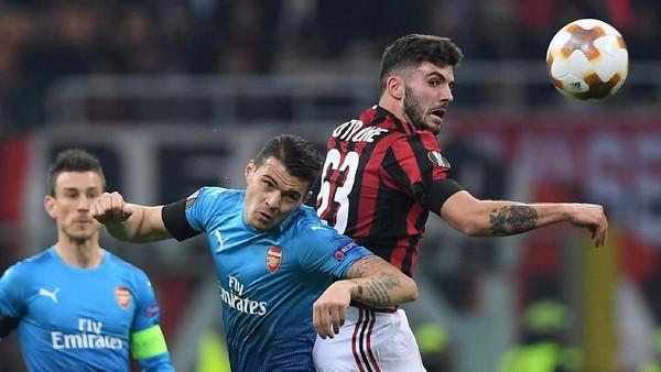 Milan Masih Yakin Bisa Singkirkan Arsenal di Leg Kedua