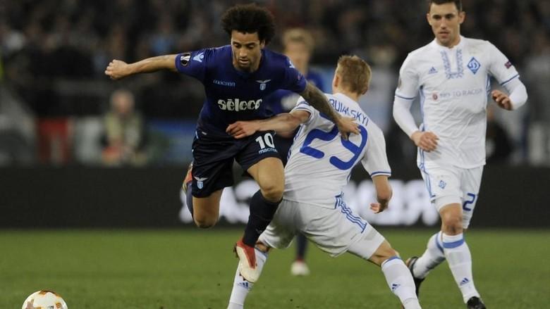 Lazio Diimbangi Dynamo Kiev 2-2 di Olimpico