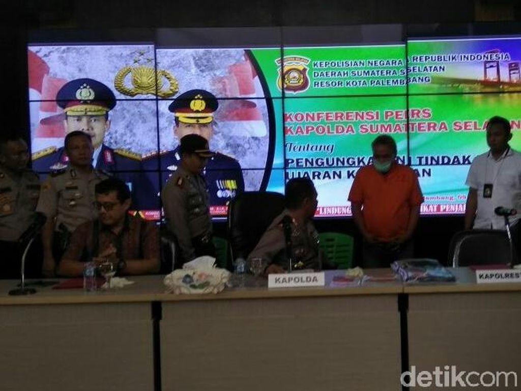 Polisi Tangkap Pemred Media Online di Palembang Terkait Hate Speech