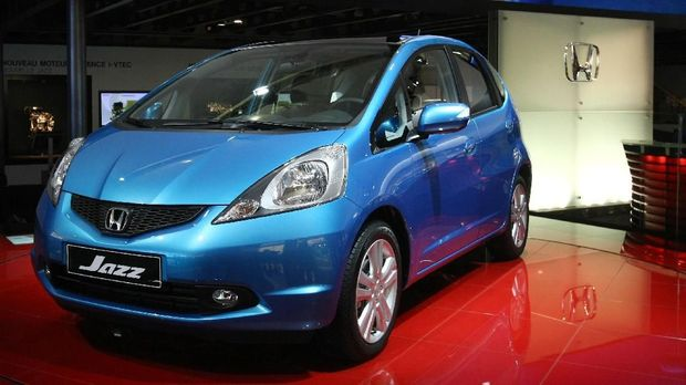 The Honda Jazz is presented on October 3, 2008 at the 2008 Motor show. The Paris motor show opened on October 2 for the press and industry reps. From Saturday October 4 until October 19 it will be open to the public. AFP PHOTO JOEL SAGET / AFP PHOTO / JOEL SAGET