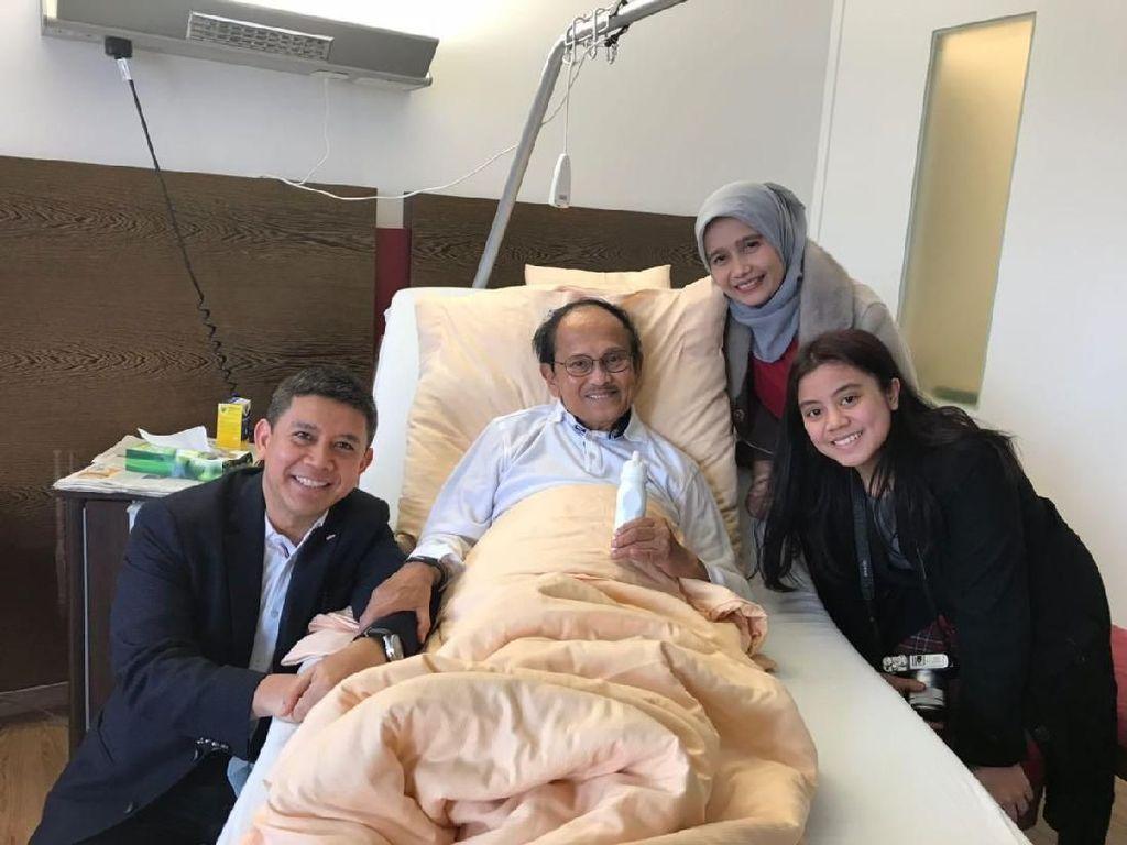 Penuh Semangat Meski Sakit, Ini Pesan Habibie Buat Rakyat Indonesia
