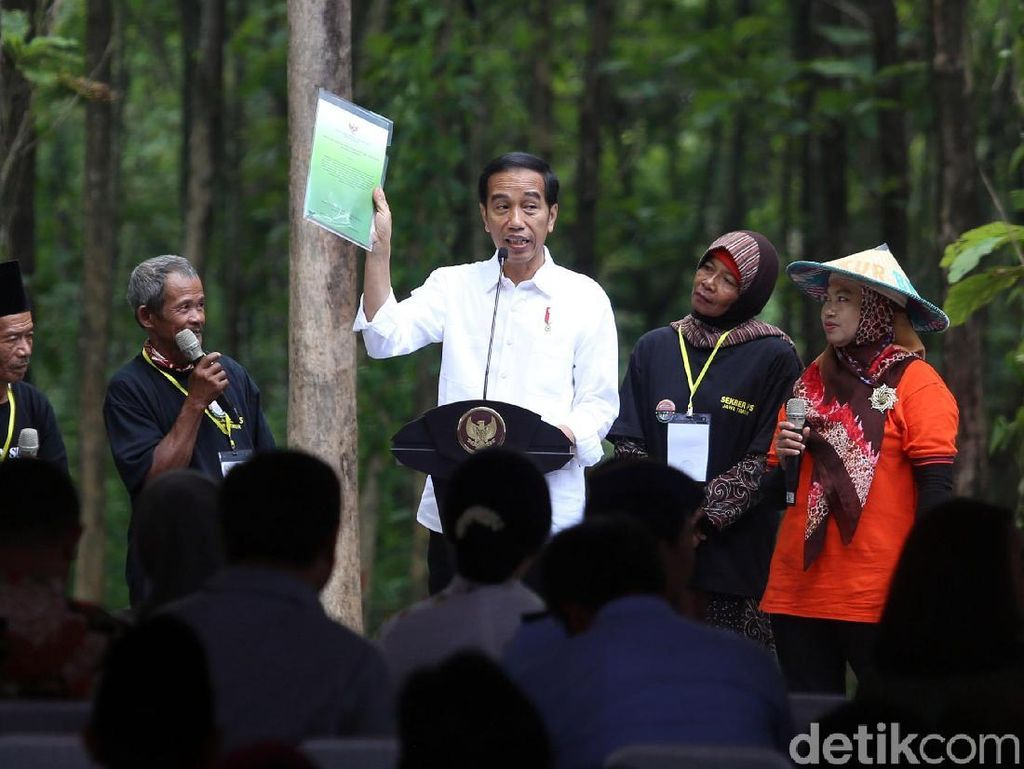 Jokowi Ingin Teknologi Digital Dimanfaatkan untuk Atasi Masalah Perhutanan