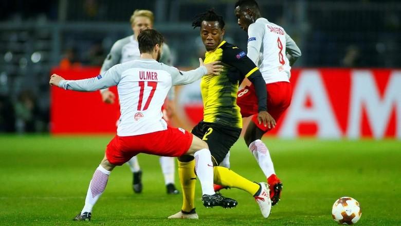 Dortmund Ditumbangkan Salzburg di Kandang Sendiri