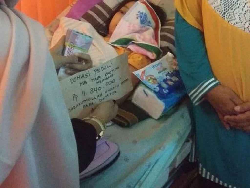 Kisah Pilu Ibu Muda asal Lamongan yang Derita Tumor Mata