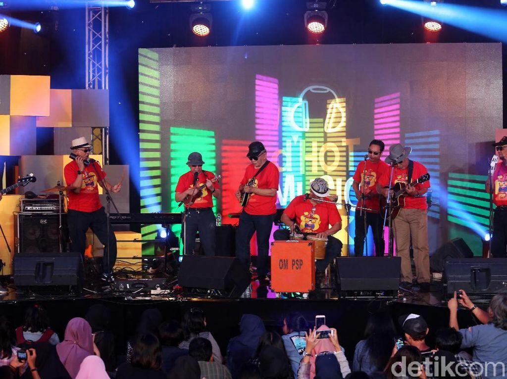 Legend! Seru-seruan Bersama OM PSP di dHOT Music Day 2018