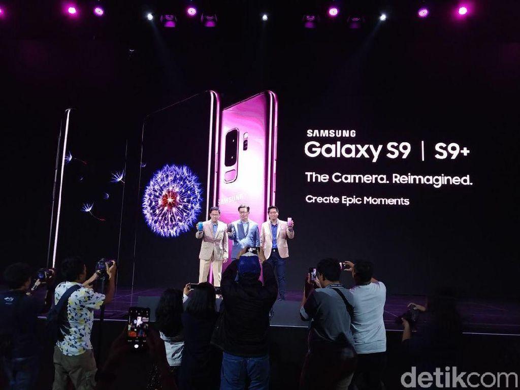 Galaxy S9 dan S9+ Resmi Hadir di Indonesia