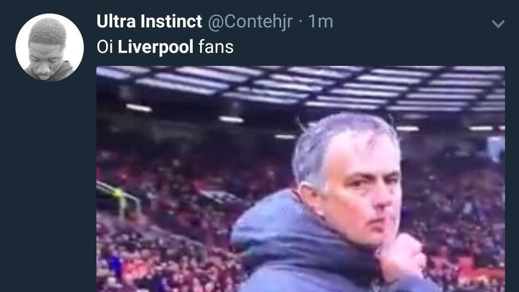 Ditaklukkan MU, Liverpool Langsung Diserbu Meme
