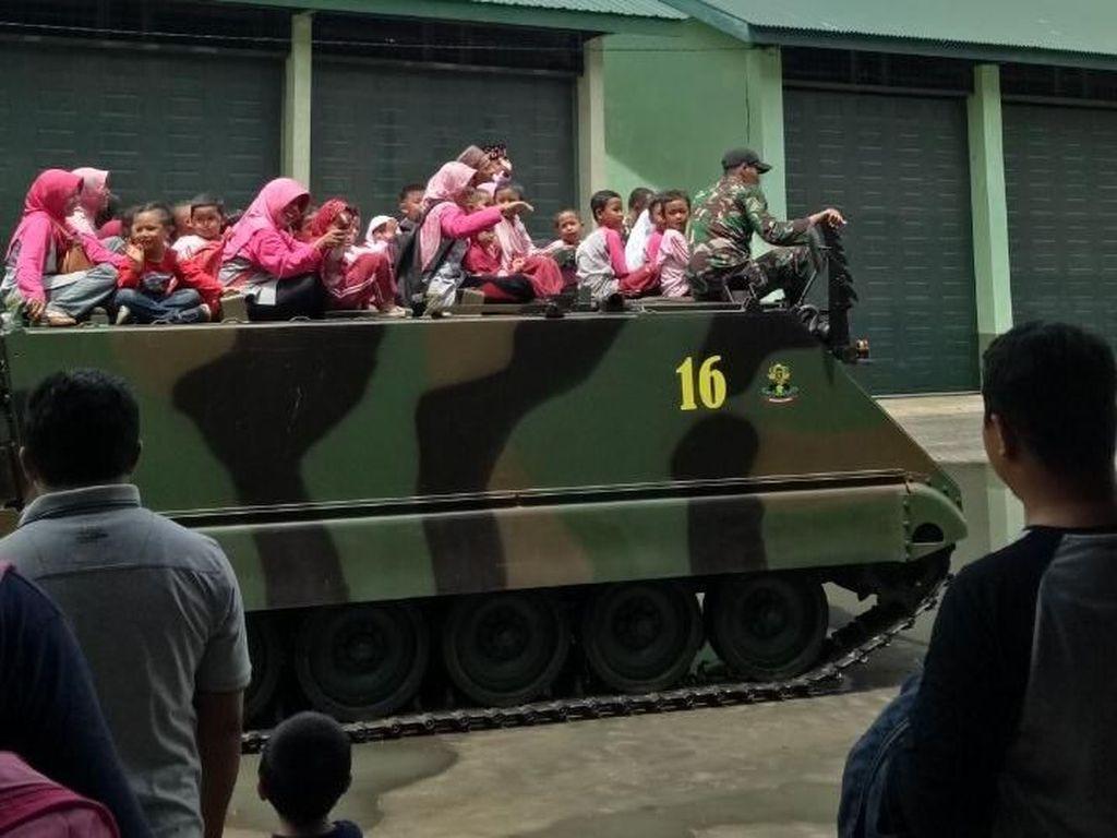 Fadli Zon Kritik Tank TNI AD Digunakan Outbond Anak PAUD-TK