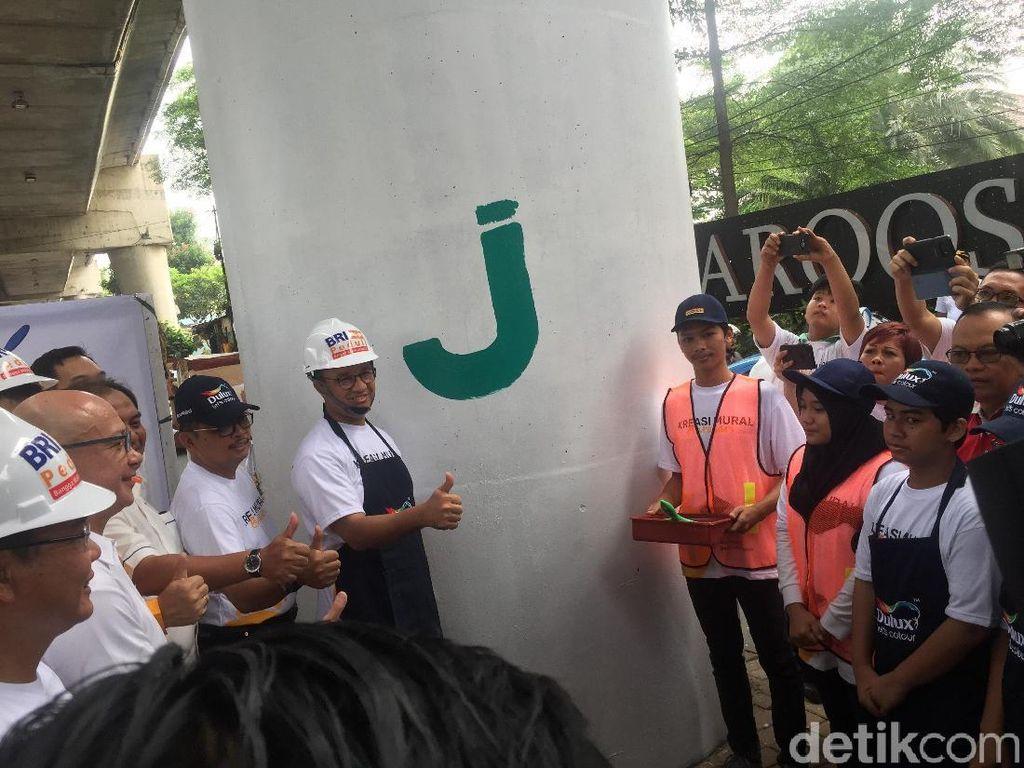Setelah JLNT Antasari, Kampung di Jakarta akan Dipercantik
