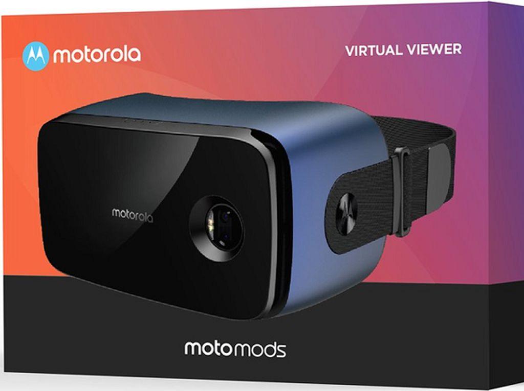 Motorola Siapkan Mod Berwujud Headset VR