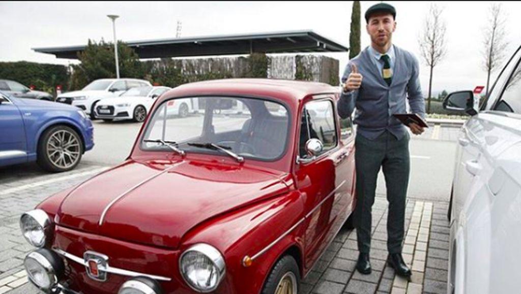 Mobil Klasik Kado Ulang Tahun untuk Sergio Ramos